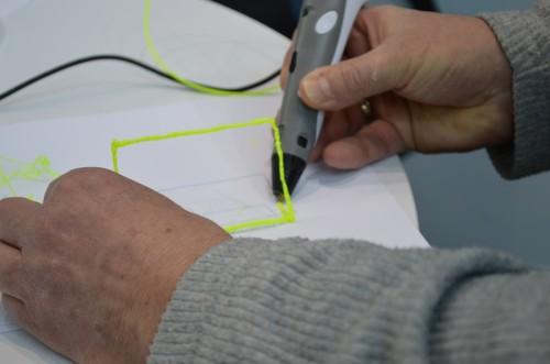 3D-Pen im Live-Einsatz auf der CeBIT
